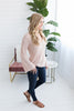 First Day of Spring Sweater - Blush