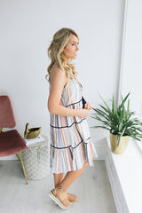 In Your Dreams Tiered Dress