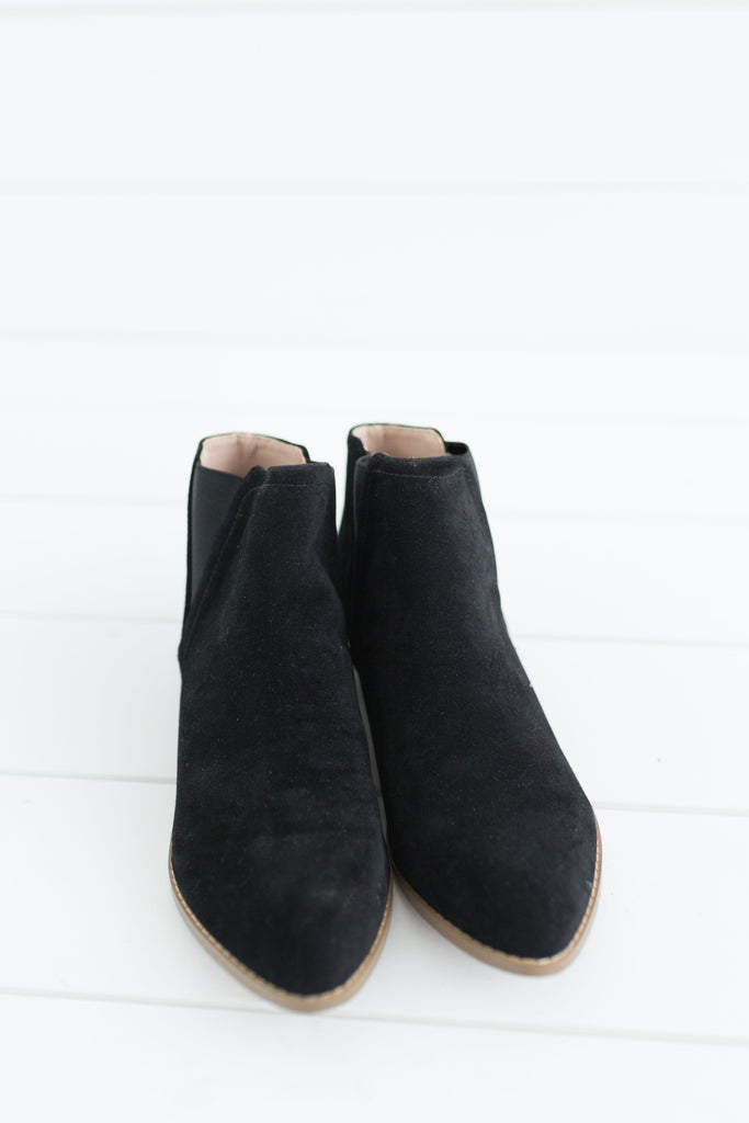 Crave Booties - Black