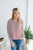 Life of the Party Knit Stripe Top