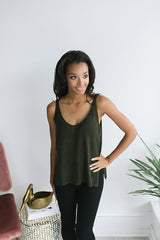 In the Woods Knit Tank Top