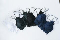 Crush on You Lace Bralettes
