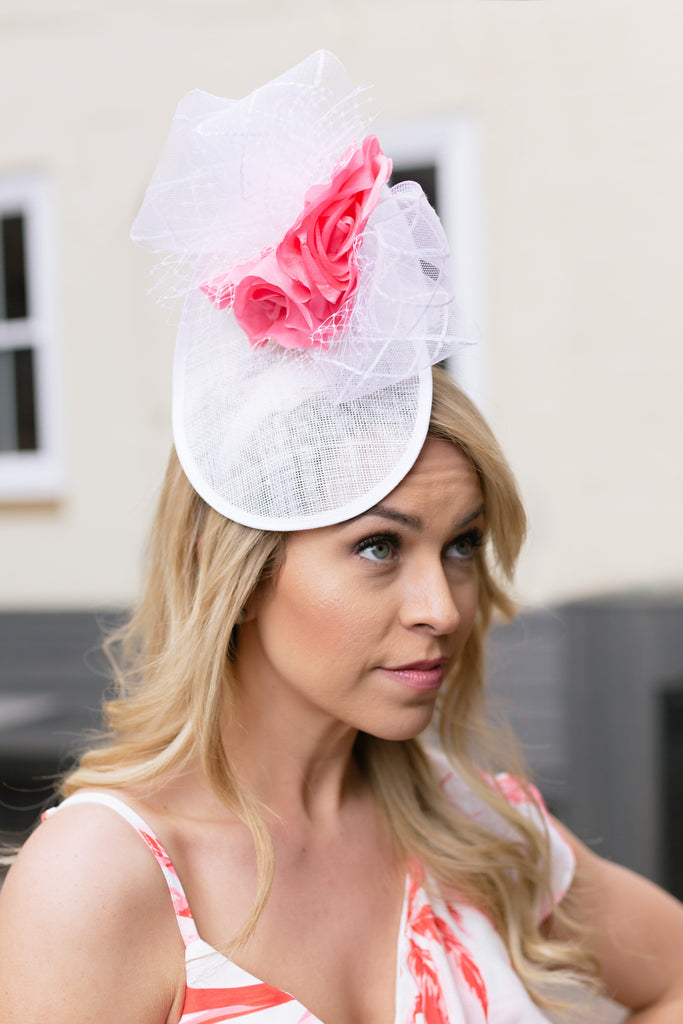 Doll Teardrop Flower Fascinator