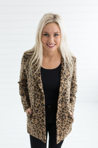 Riley Leopard Jacket