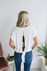 Coastal Living Top - Ivory