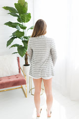 Julia Lightweight Cardigan - H Grey