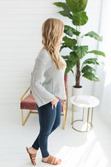 First Day of Spring Sweater - Grey