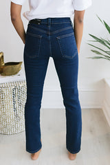 Heather Clean Cigarette - Dark Denim