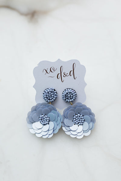 Emily Delicate Floral Earrings