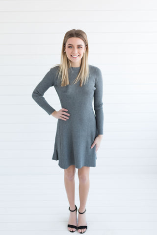 Garrison Ribbed Sweater Dress