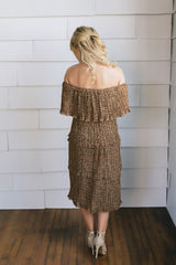 Mia Ruffled Tiered Dress