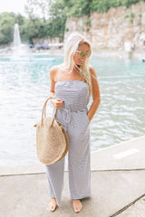 I'm Yours Off the Shoulder Jumpsuit
