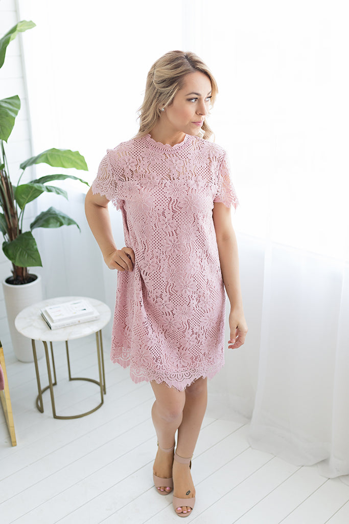 66f45c45 Amelia Lace Dress – Dress & Dwell
