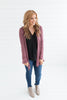 The Lightweight Natalie Cardigan - Mauve