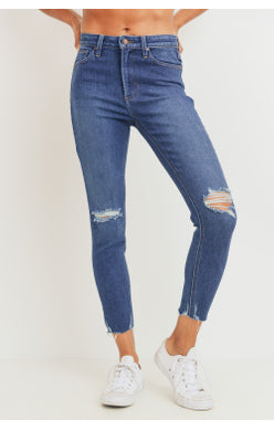 Last to Know High Rise Denim - Dark