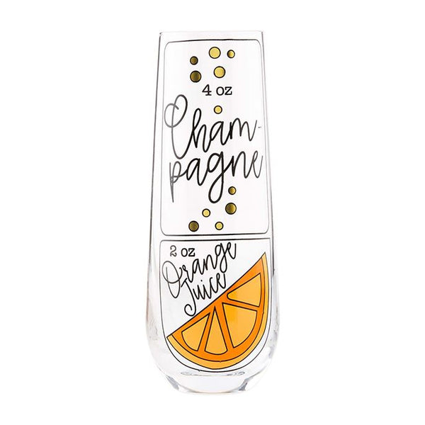 Champagne Brunch Glass