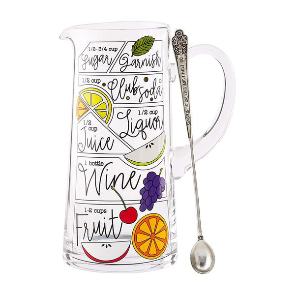 Sangria Glass Pitcher