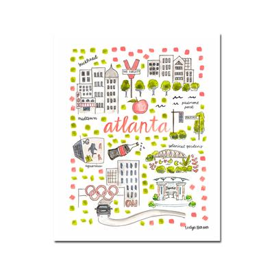 Evelyn Henson Prints - Atlanta