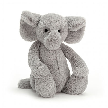 Bashful Stuffed Animal - Elephant
