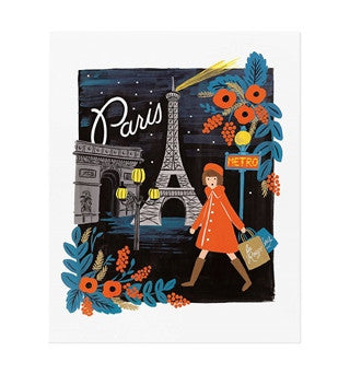 Rifle Paper Co: City Print - Paris
