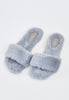 Cozy Winter Slippers - Grey