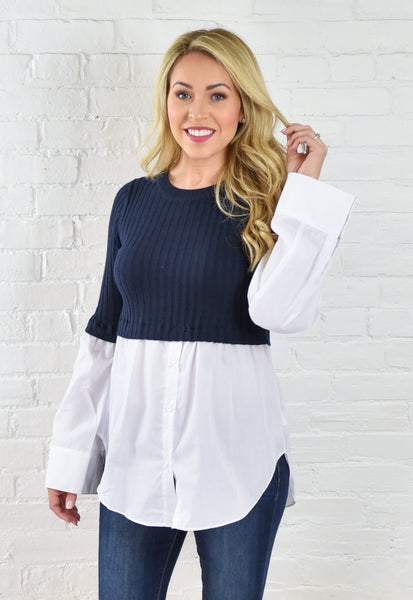 Amy Overlay Blouse