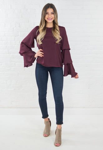 Zoe Light Knit Tie Up Sweater