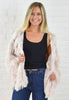 Lennox Faux Fur Jacket - Cream