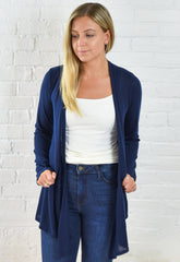 The Lightweight Natalie Cardigan - Navy