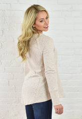 Meredith Knit Top - Beige