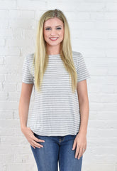 Heather Stripe HighLow Top