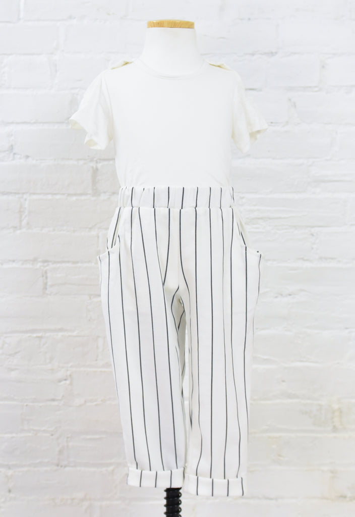 June Cuffed Stripe Pants