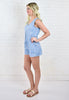 Carri Denim Romper