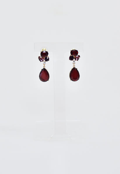 Burg Glam Earrings