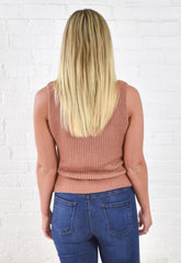 Katelyn Sweater Tank - Copper