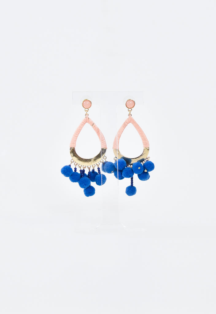 Spring Break Earrings - Peach