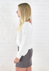 Rae Sweater - White