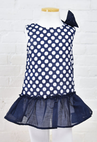 Molly Polka Dot Shift Dress