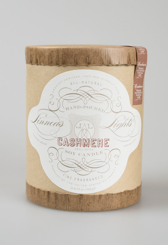Linnea's Lights Core Candle - Cashmere