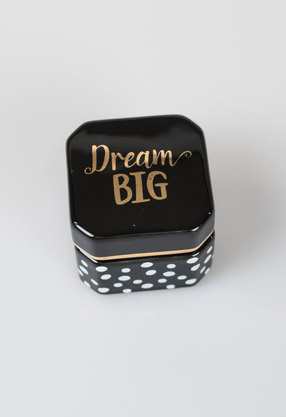 Sweet Sayings Trinket Boxes - Dream Big