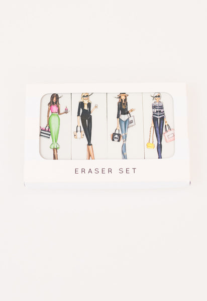 Winks Eraser Set by Brittany Fuson
