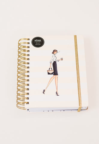 Winks 3-in-1 Journal by Brittany Fuson