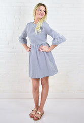Kendall Cotton Dress - Grey
