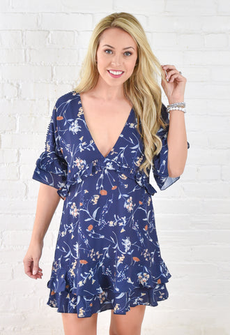 Heather Floral Dress