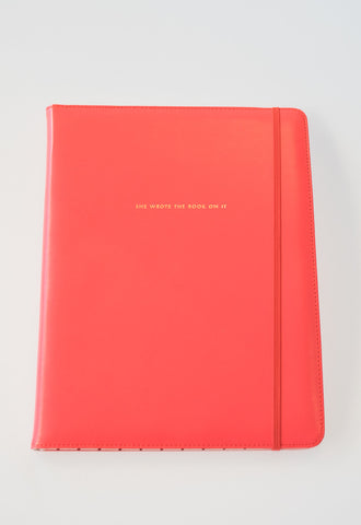 'She Wrote The Book On It' Notebook by Kate Spade