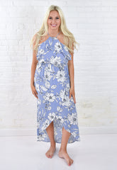 Holly High Neck Floral Dress