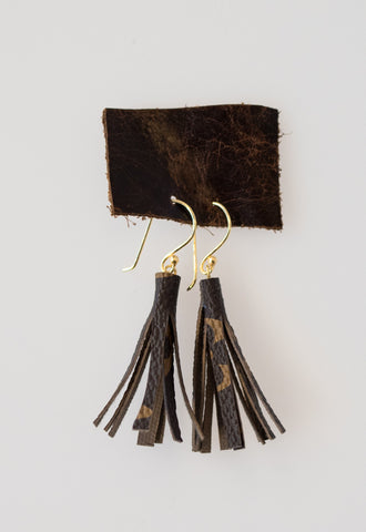 Vintage LV Tassel Earrings