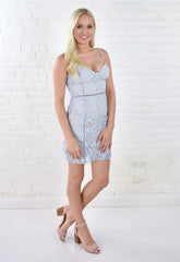 Lola Lace Mini Dress