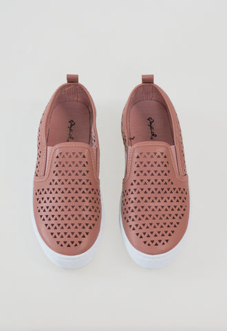 Ria Cut Out Sneakers