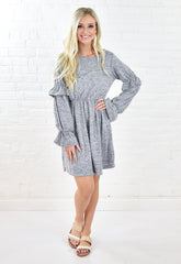 Leann Long Knit Cardi - Blush